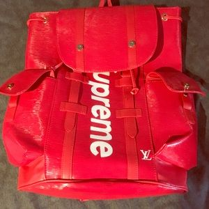 Other - Supreme x LV backpack